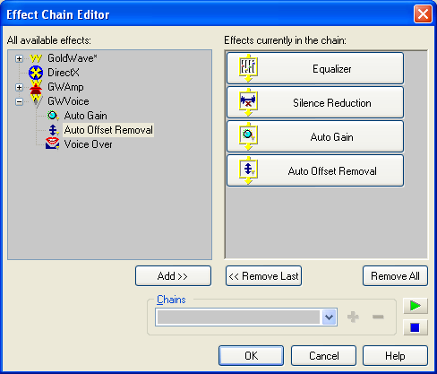 Effect Chain Editor Image